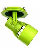 Einbaustrahler Gehäuse grün PAR30 E27 Fassung