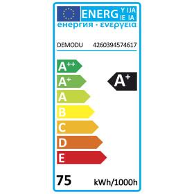 DEMODU® PREMIUM 24V LED Streifen Warmweiß 3000K 5m 120 SMD/m 2835 IP67 wasserfest