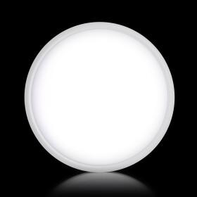 DEMODU® LUNA LED Wand- und Deckenleuchte rund weiß 30cm 24W 150lm/W leistungsstark Lichtfarbe einstellbar