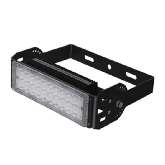 DEMODU® LED Pro modulares Industrie Flutlicht 50W 5000K 6500Lumen MeanWell Treiber Philips 5050 Chips
