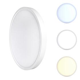 DEMODU® LUNA LED Wand- und Deckenleuchte Lampe 150lm/W TÜV leistungsstark Lichtfarbe einstellbar