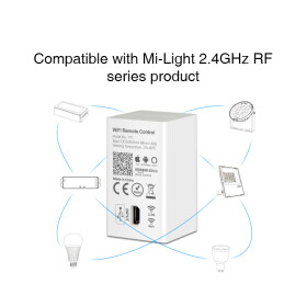 Mi-Light WiFi + Alexa Smart Konverter für MiLight Empfänger