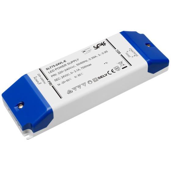 LED-Trafo, 75 W, 24 V DC, 0 - 3,1 A