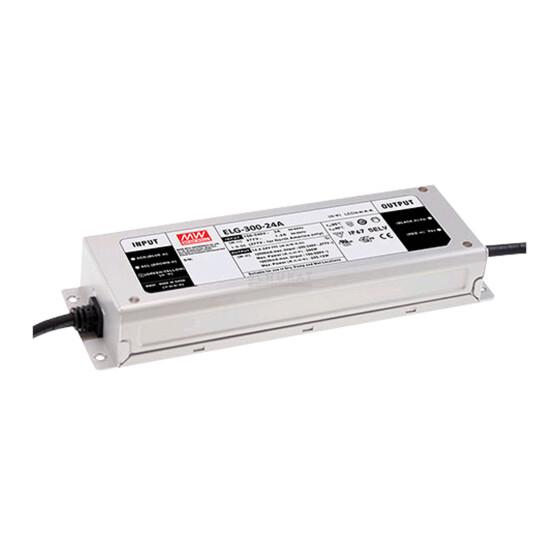 MEAN WELL SNT IP67 300W 24V/12,5A CV+CC