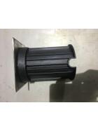 Bodeneinbauleuchte 12x12cm Edelstahl gebürstet - Recessed floor light 12x12cm Brushed stainless steel