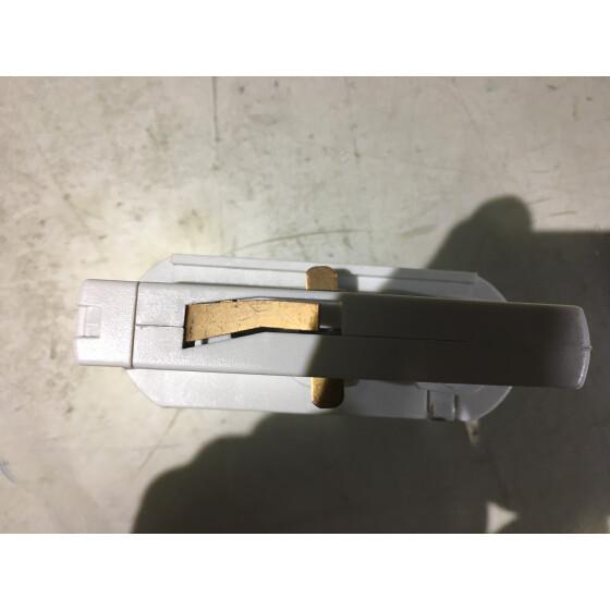 Adapter 3-Phasen Stromschienenstrahler 230V Weiß