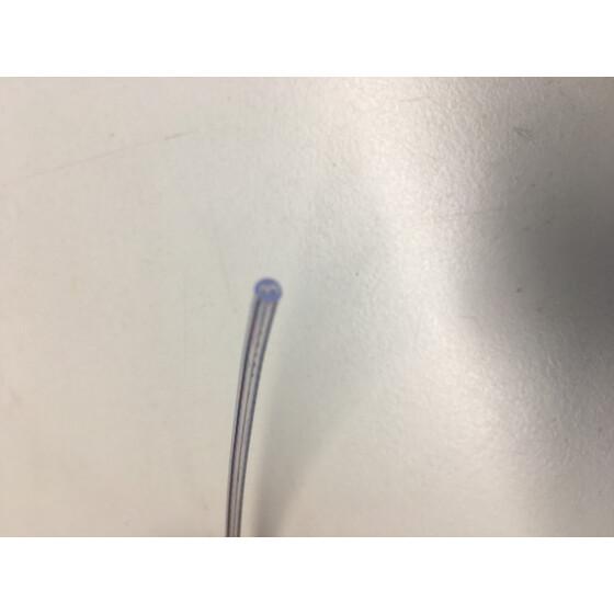 Kabel Zweiadrig Durchmesser 2,5mm 0,25mm2 durchsichtig