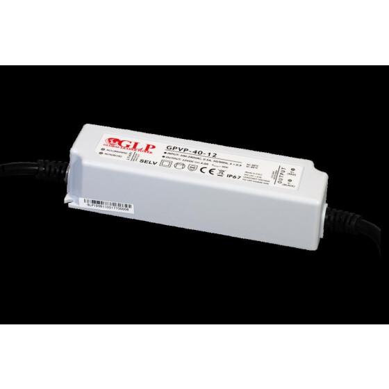 GLP GPVP-40 24V 1.7A Netzteil IP67 Konstantspannung mit PFC GPVP Serie GPVP-40-24