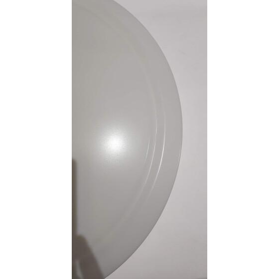 40cm weißes cover für 24W Lampe blau pink