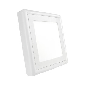 ALGINE  ECO II LED SQUARE  230V 6W IP20  CW CEILING PANEL...