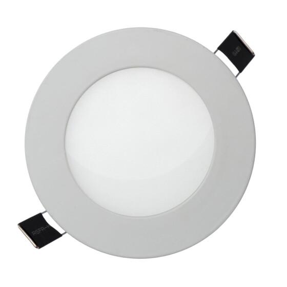 ALGINE  ECO LED ROUND  230V 12W IP20  CW CEILING PANEL white frame