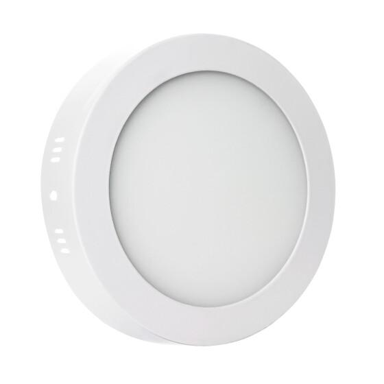 ALGINE  ECO LED ROUND  230V 6W IP20  WW CEILING PANEL white frame SURFACE