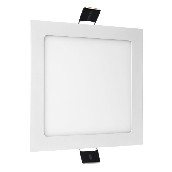 ALGINE  ECO LED SQUARE  230V 12W IP20  WW CEILING PANEL white frame
