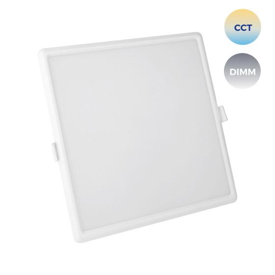 ALGINE 22W CCT+DIM Wi-Fi Spectrum SMART square, recessed