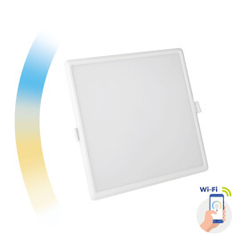 ALGINE 22W CCT+DIM Wi-Fi Spectrum SMART square, recessed