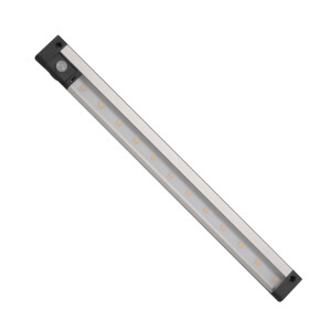CABINET LINEAR LED SMD 3,3W 12V 300mm CW PIR