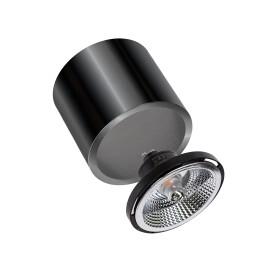 CHLOE AR111 GU10 Metalica IP20 round black chrome