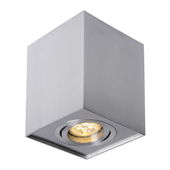 CHLOE GU10 IP20 square silver regulated eye