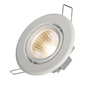 FIALE II 6W COB 38st 230V NW LED SPOT white ring