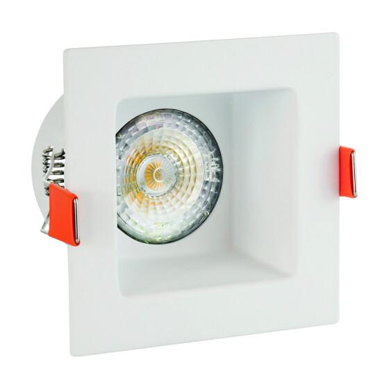 FIALE III GU10 square 1 white