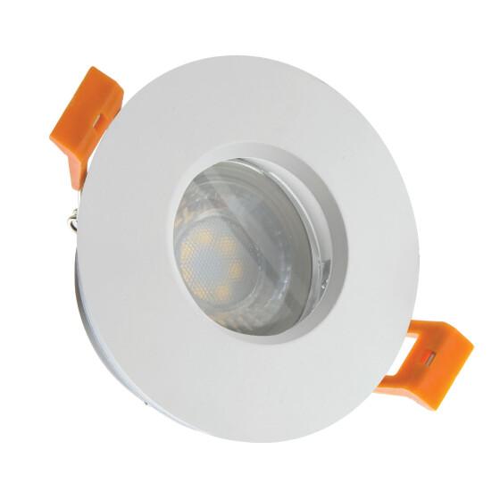 FIALE IV GU10 round white IP65