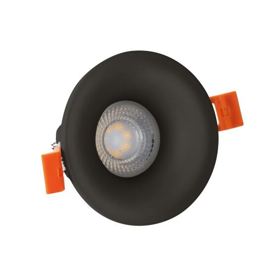 FIALE V GU10 round black