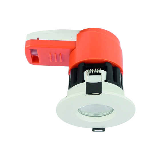 Ignis downlight fire rated CCT CW/NW/WW IP65 white ring