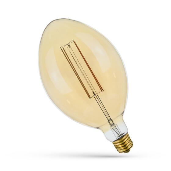 LED  CARBON BT180 E40  6W/230V BIG COG gold SET SPECTRUM