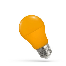 LED A50 E-27 230V 5W ORANGE SPECTRUM