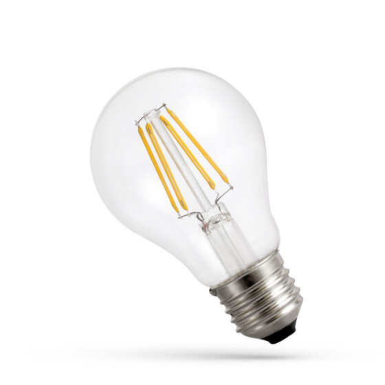 LED A60 E-27 230V 6W COG NW CLEAR SPECTRUM