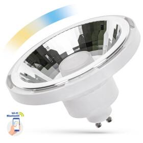 LED AR111 10W GU10 SMD 230V WHITE 30 degree CCT+DIMM...