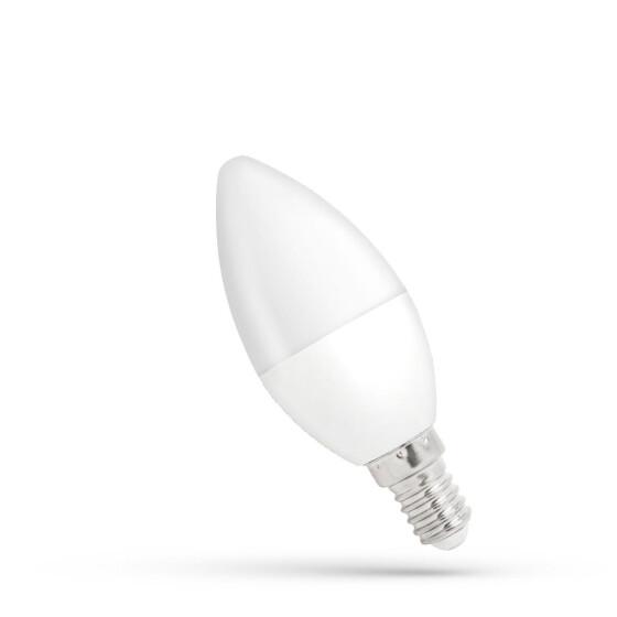 LED C37  E-14 230V 6W WW DIMMABLE SPECTRUM