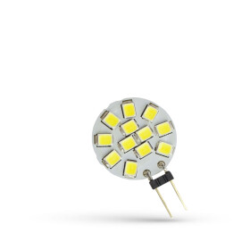 LED G4  12V 1,2W 12 LED CW  20MM SPECTRUM