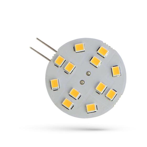 LED G4  12V 2W 12 LED WW 30MM SPECTRUM