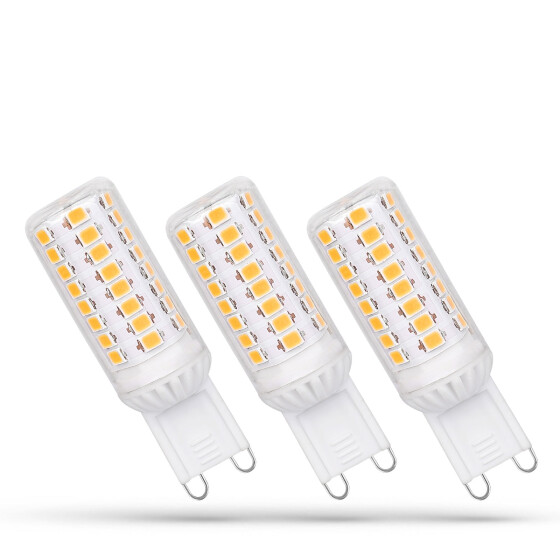 LED G9 230V 4W WW DIMMABLE SMD 5 LAT PREMIUM SPECTRUM 3-PACK