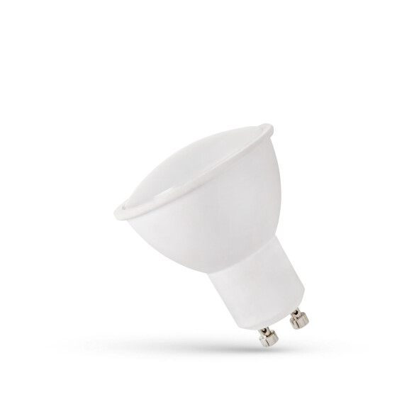 LED GU10 203V 1.5W SMD CW WITH MILKY COVER SPECTRUM