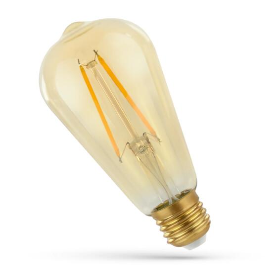 LED ST64 E-27 230V 2W COG WW RETROSHINE SPECTRUM