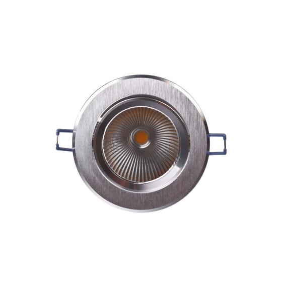 LUVIA LED COB DOWNLIGHT 230V 20W 60st. 139mm CW silver