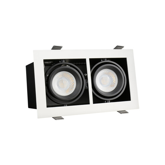 MODERN DAY MINI GU10 x2 white frame