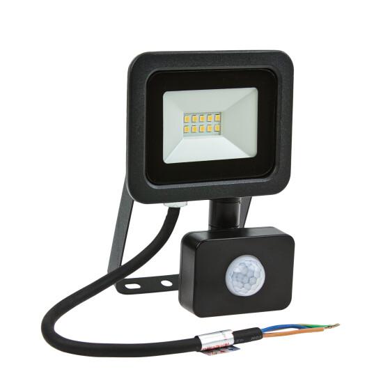 NOCTIS LUX 2 SMD 230V 10W IP44 WW black with sensor