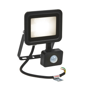 NOCTIS LUX 2 SMD 230V 20W IP44 NW black with sensor
