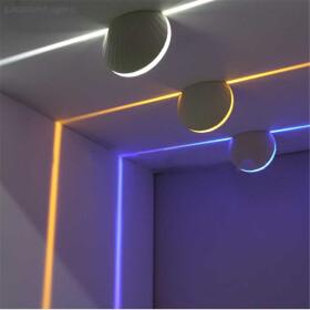LED Window Light Fensterlicht Blau 9W 230V