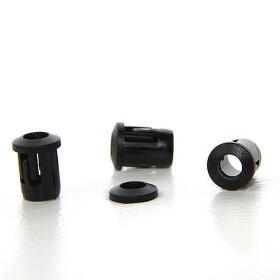 LED Halter schwarz plastik lang für 5mm LEDs