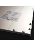 36W LED Panel 62cm warmweiß Deckenpanel Rasterdecke Odenwalddecke silberner Rahmen