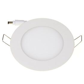 12W Ultraslim Spot LED Panel weiß Ø 17cm rund 4000K neutralweiß Deckenlampe Einbaustrahler Lampe