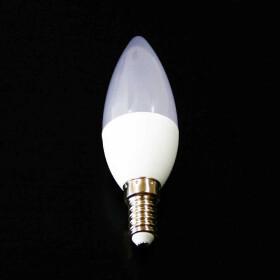 E14 3W LED Lampe 4000K weiß Kerzenform wie 40W...