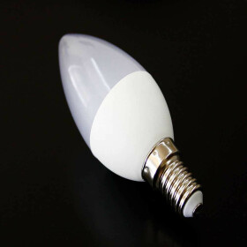 E14 5W LED Lampe 4000K weiß Kerzenform wie 50W...
