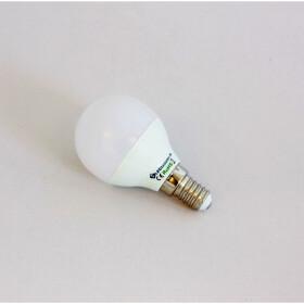 E14 5W LED Ball Lampe 4000K kleine Bauform weiß wie...