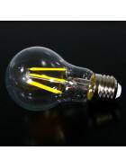 E27 6W LED Leuchtmittel Filament 3200K warmweiß Ball Lampe wie 60W Retro Licht Glühbirne/Glühlampe