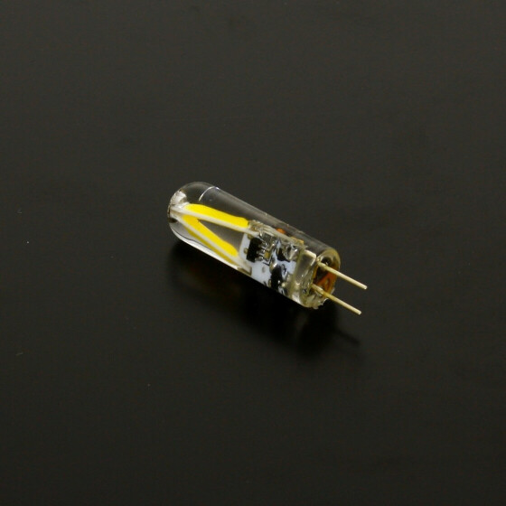 G4 LED 2W Leuchtmittel neutralweiß COB Stiftsockel 12V DC Zylinderform AC / DC 4000 kelvin